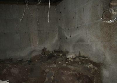 Moisture Issues in a crawlspace in Hartwell Georgia